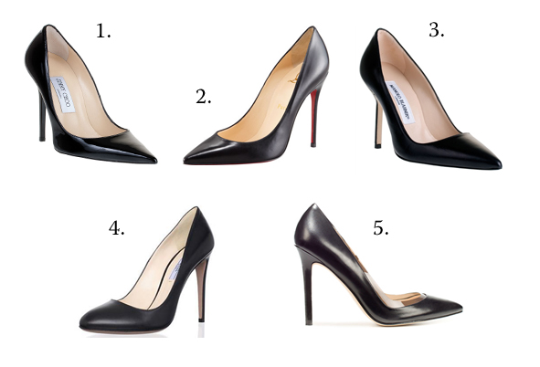 1b3ead64d05 The classic black pump. Perfect for day or night